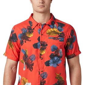Columbia Outdoor Elmnts Print Camiseta Manga Corta Hombre, wildfire tropic print
